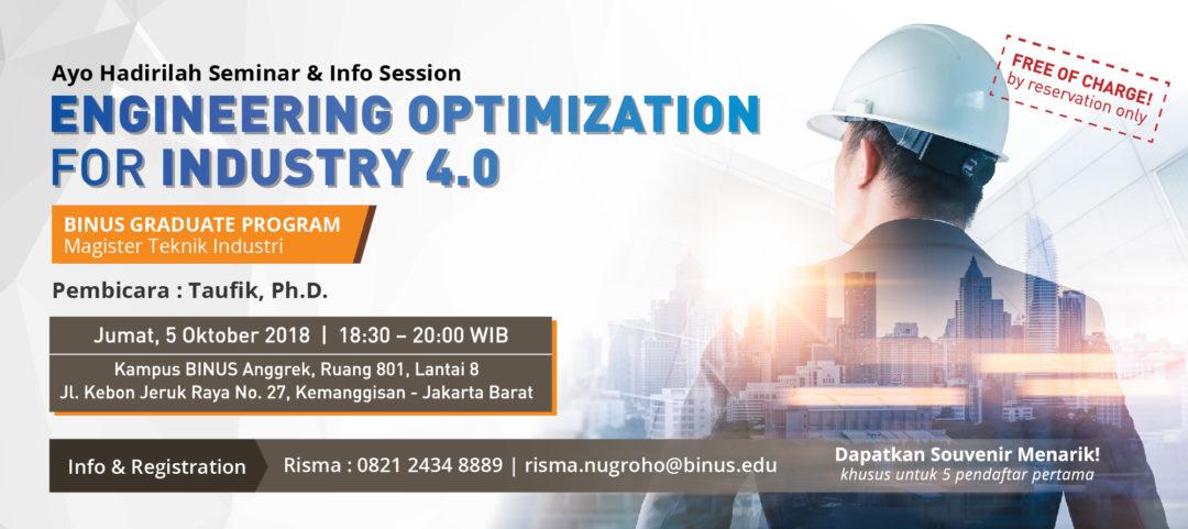 Seminar & Info Session MIE